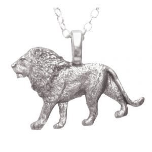 African lion necklace 1364