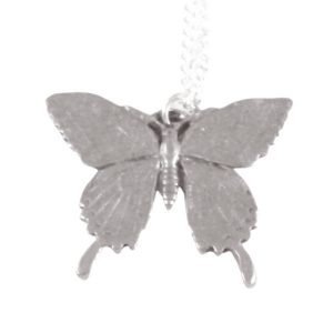 Swallowtail butterfly necklace 1689