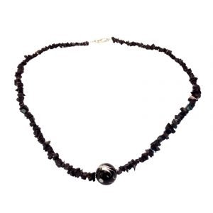 Dragon bead and blue goldstone 950
